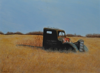 Duffy's Truck - by Les Bartley