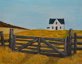 Matawachan House Gate - by Les Bartley