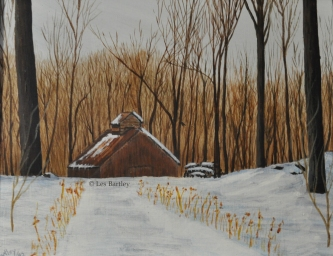 Sugar Shack - Glengarry - by Les Bartley
