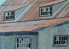 Tin Roof - Constant Creek - by Les Bartley